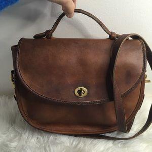 Vintage Coach Crossbody leather bag